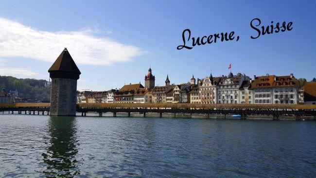 le pont de Lucerne
