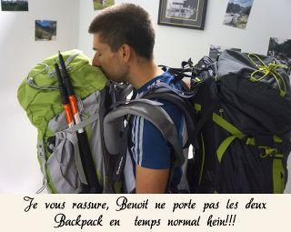 Le poids des backpacks