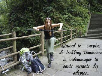 randonnée au Mont Emei