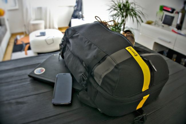 test du sac a dos slicks trip un sac voyage et buisness. Black Bedroom Furniture Sets. Home Design Ideas