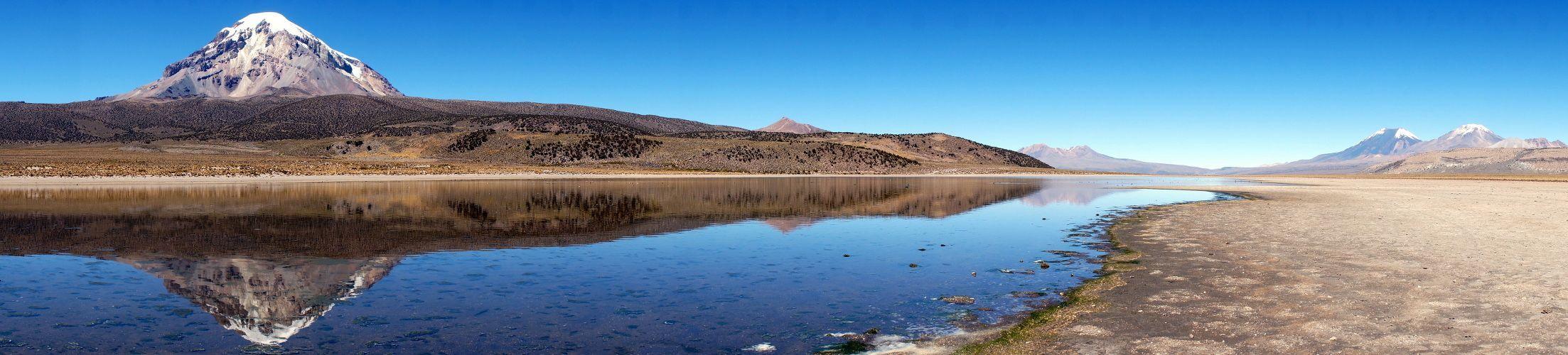 Sajama: Lago Huanakota