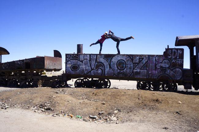 old train in uyuni