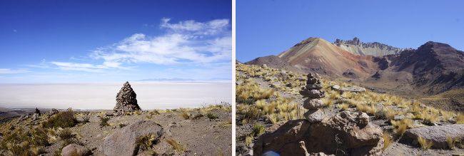 volcan thunupa, bolivie