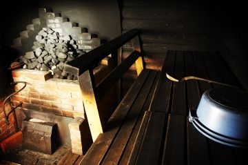 sauna à fumée