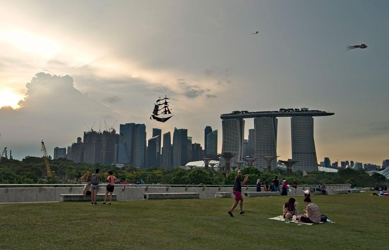les cerfs-volants à singapour