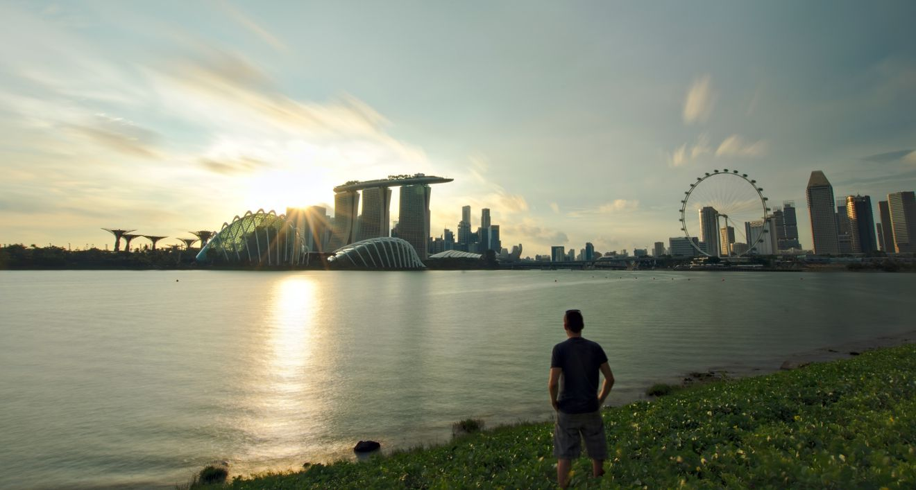 singapore sunset point