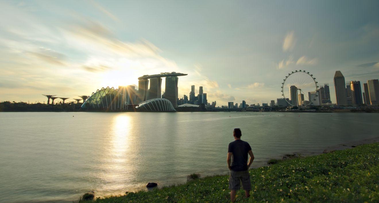 singapore sunset point