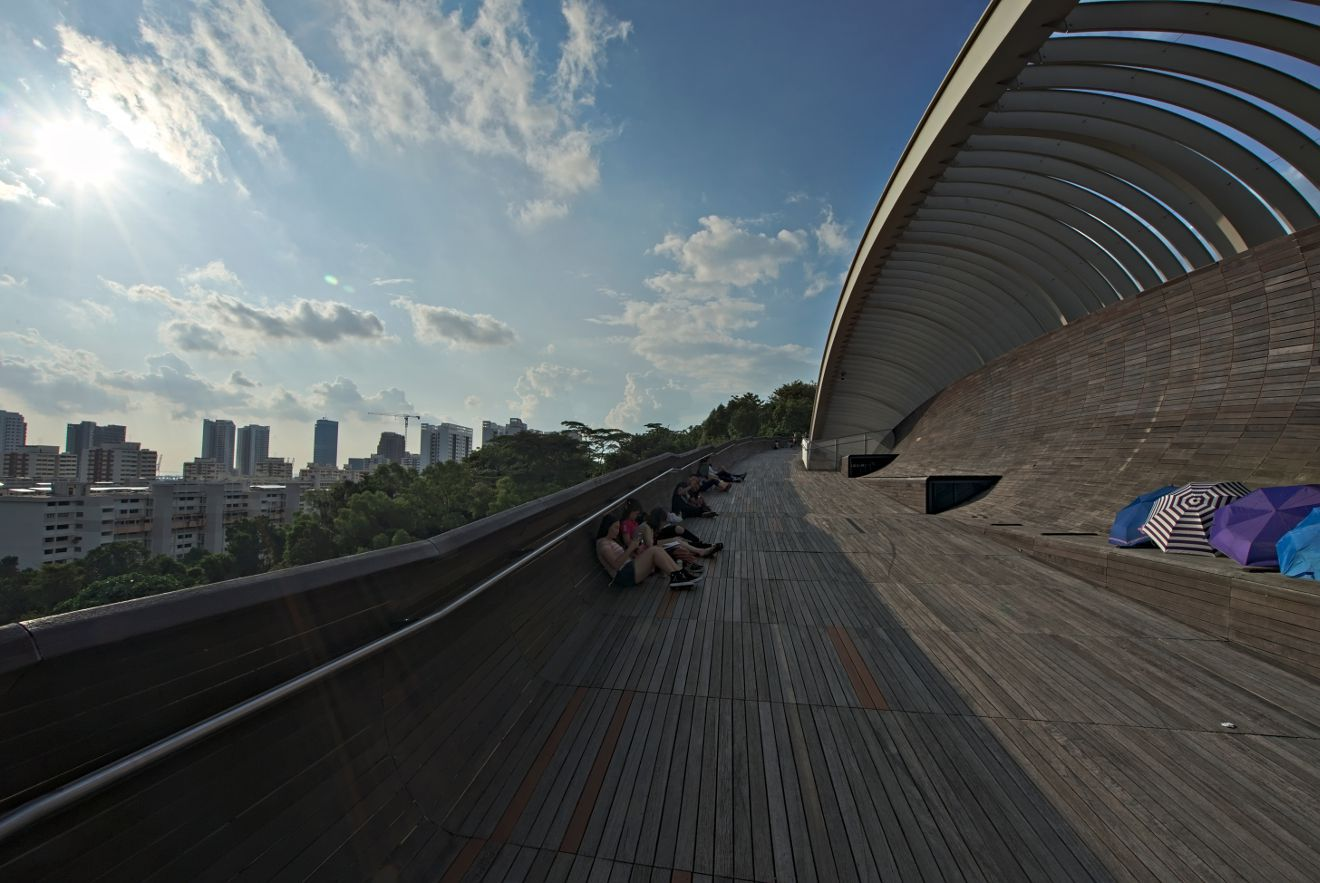 henderson waves, singapour