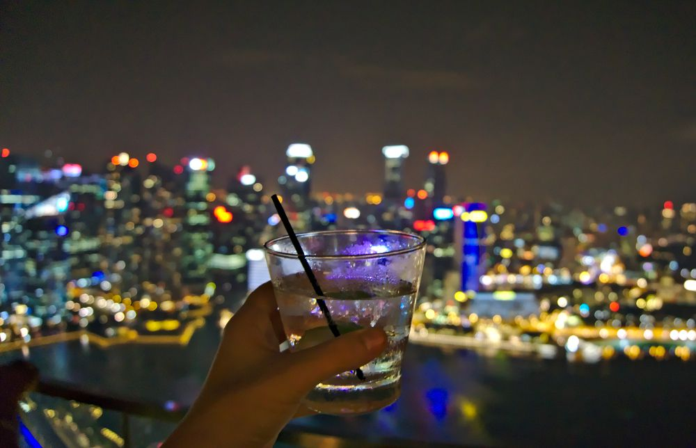 Cé la Vi rooftop, Singapour