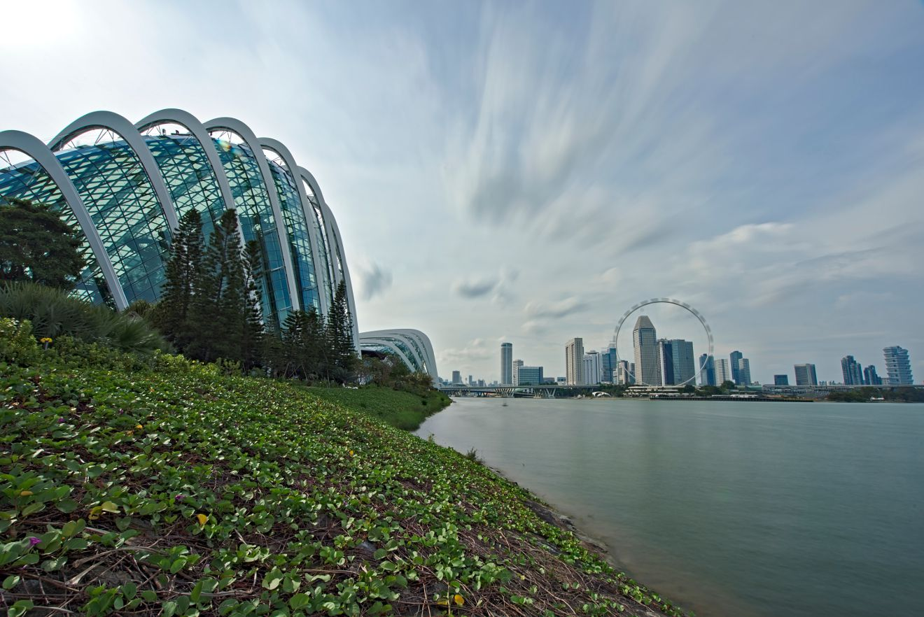flower dome singapour