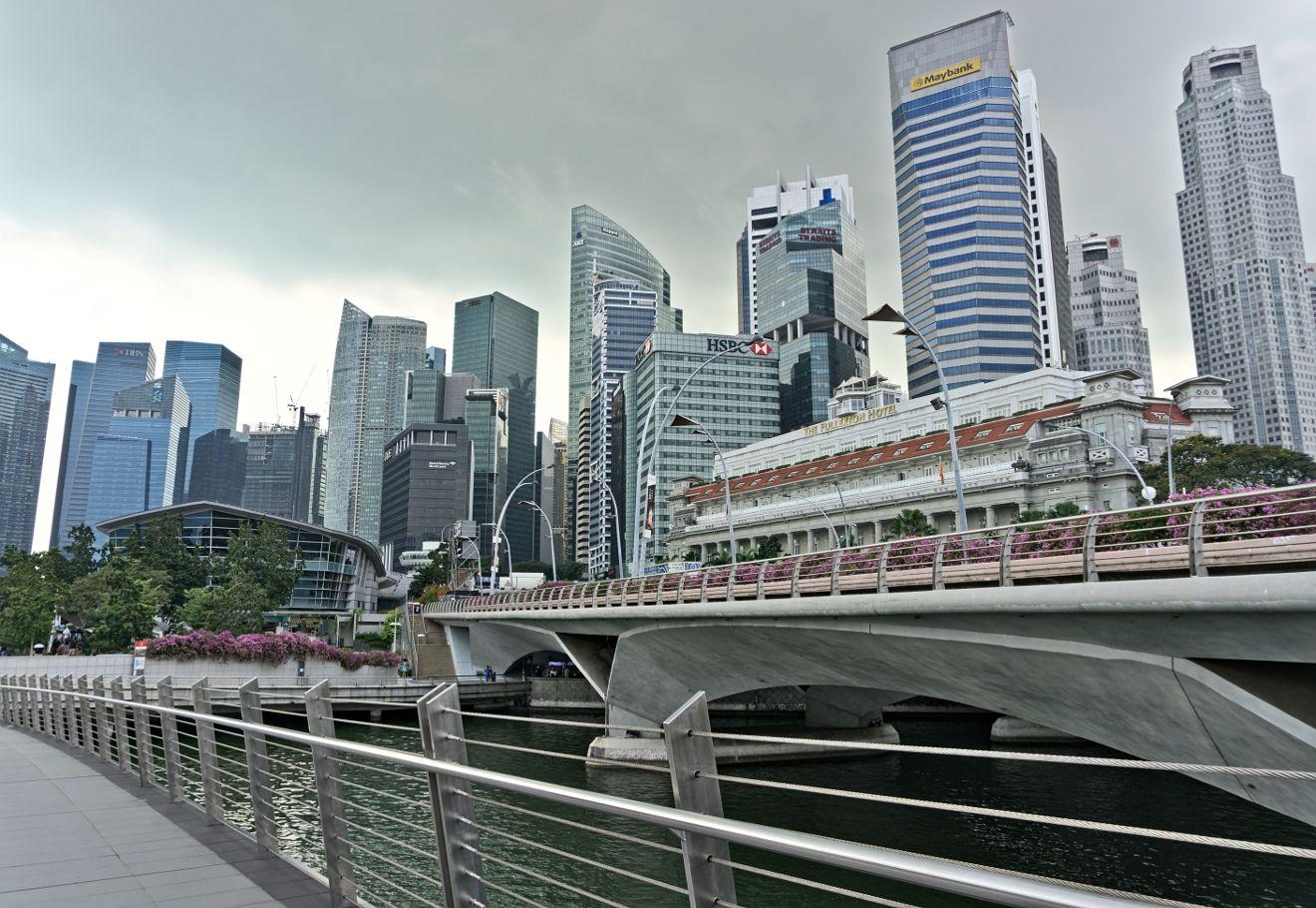promenade de Singapour