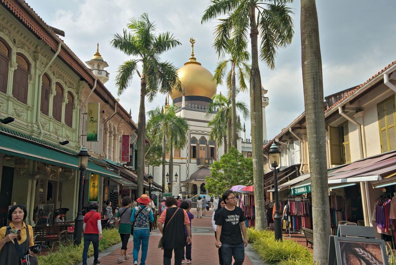 mosquée de Singapour