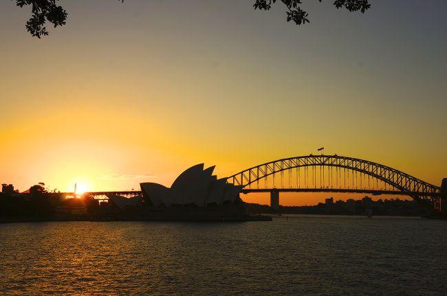 coucher de soleil sur l'opera
