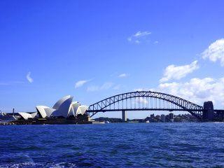 la baie de Sydney et l'opéra