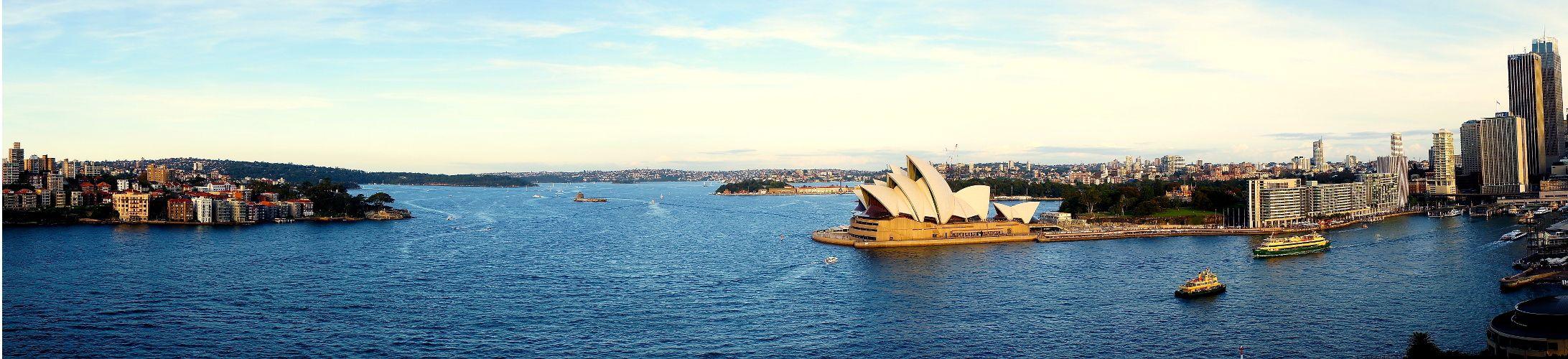 La baie de Sydney et son opera