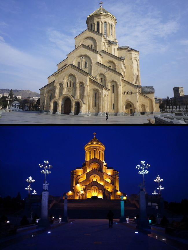orthodox church, tbilisi
