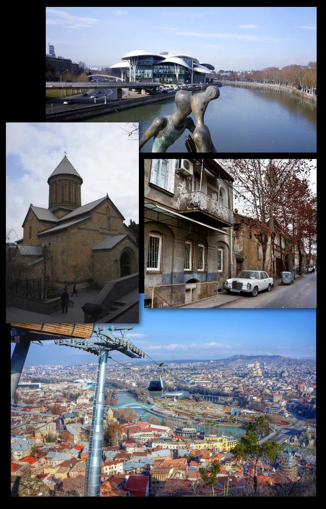 Visite de tbilissi capitale de la georgie for Architecture 21eme siecle