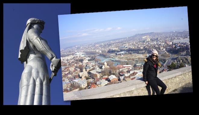 vue sur la capitale géorgienne