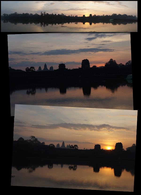 angkor wat levé soleil