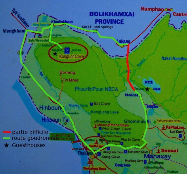 Thakheak map