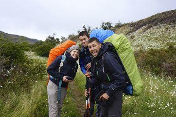 groupe de trekking