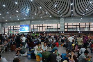 A la gare de Pékin