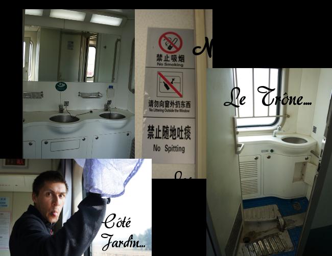dans les trains chinois