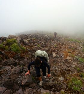 trek Rinjani jour 1
