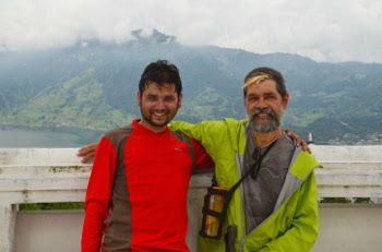 mon père et son guide