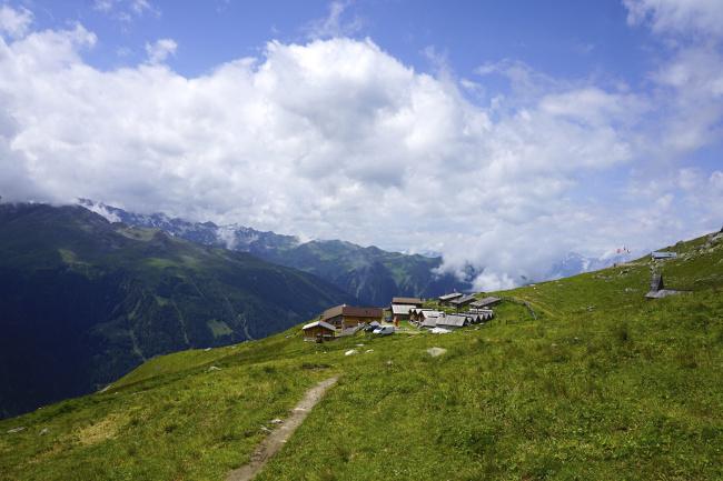 gîte d'alpage en Valais