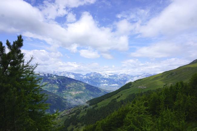 alpes suisses en Valais