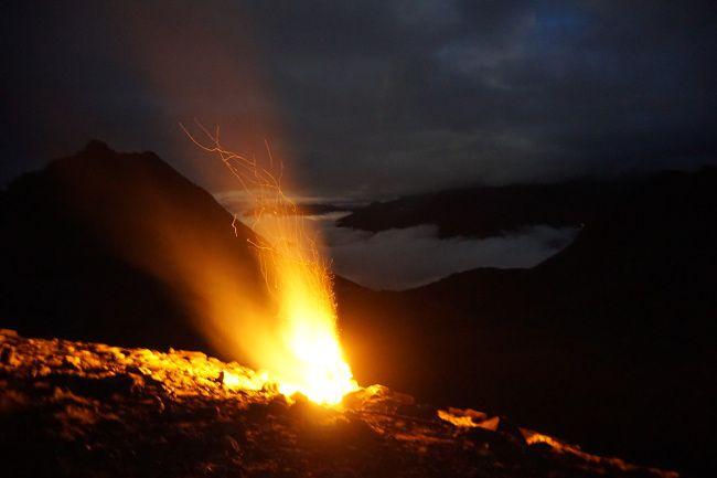 feu du 1er août en montagne