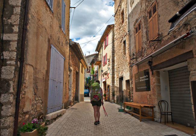 village des aiguines, Provence