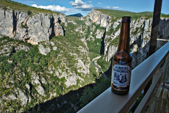 beer gorges du verdon