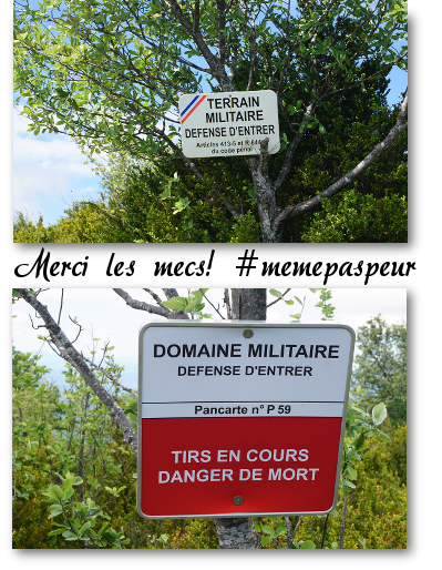 panneaux de l'armée