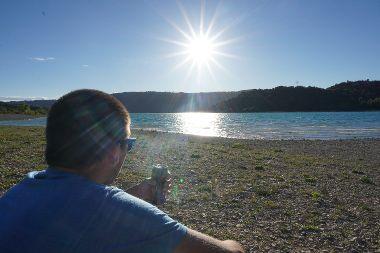 Randonn e en france le sentier martel et grand marg s for Camping au bord du lac de sainte croix avec piscine