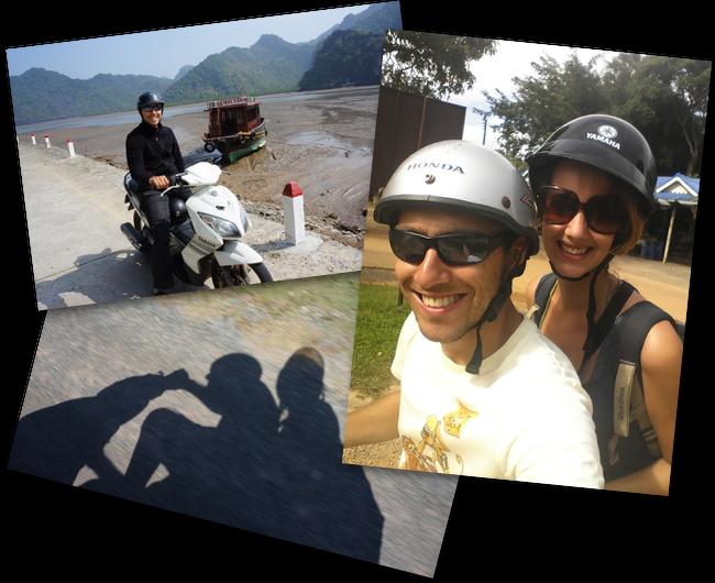 sur les routes vietnamiennes