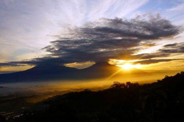 lever du soleil yogyakarta