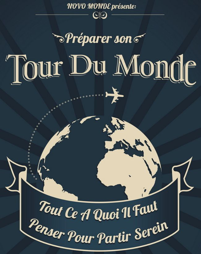 comment faire le tour du monde  le guide complet