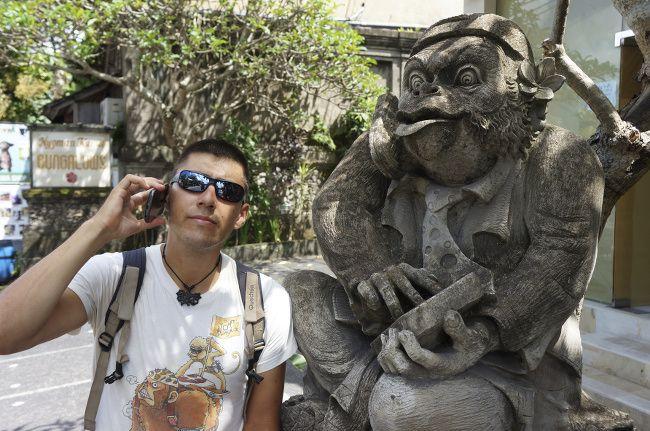 téléphoner depuis l'étranger