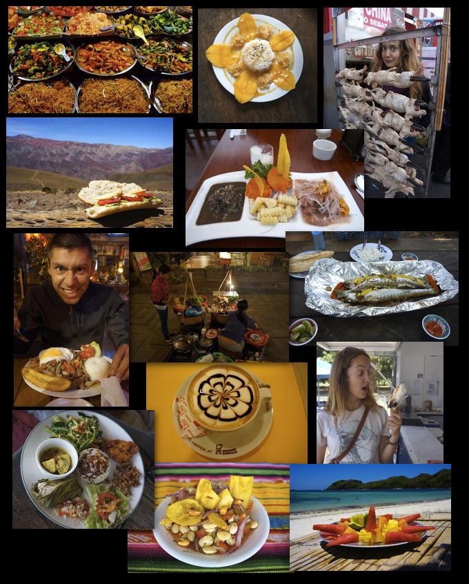 nourriture tour du monde