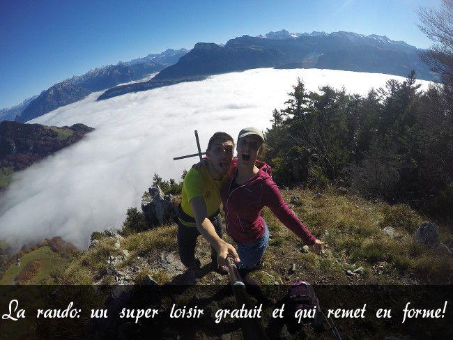 un loisir gratuit: la randonnée