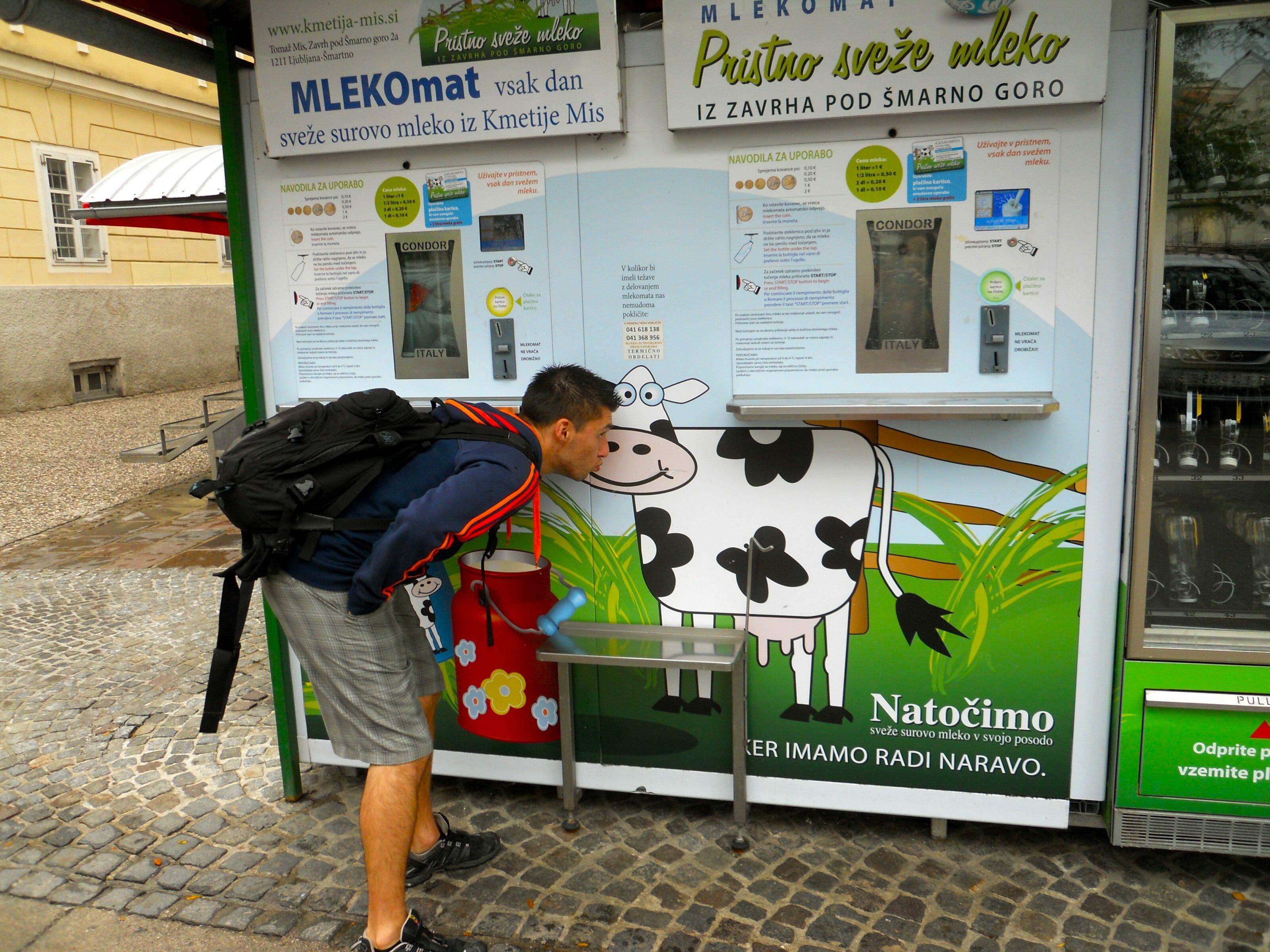 machine à lait