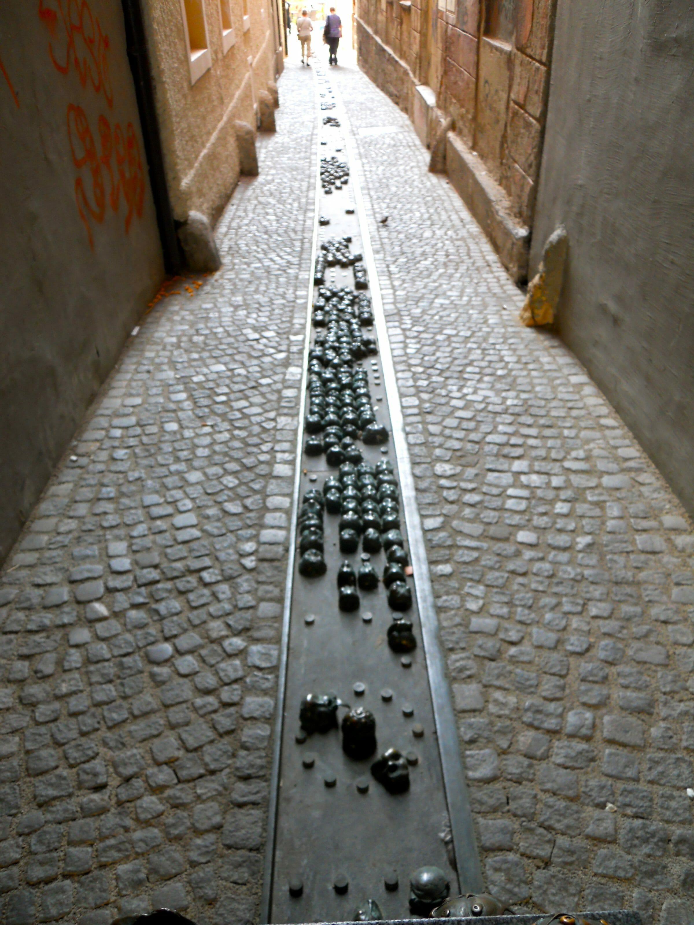 rue des têtes ljubljana