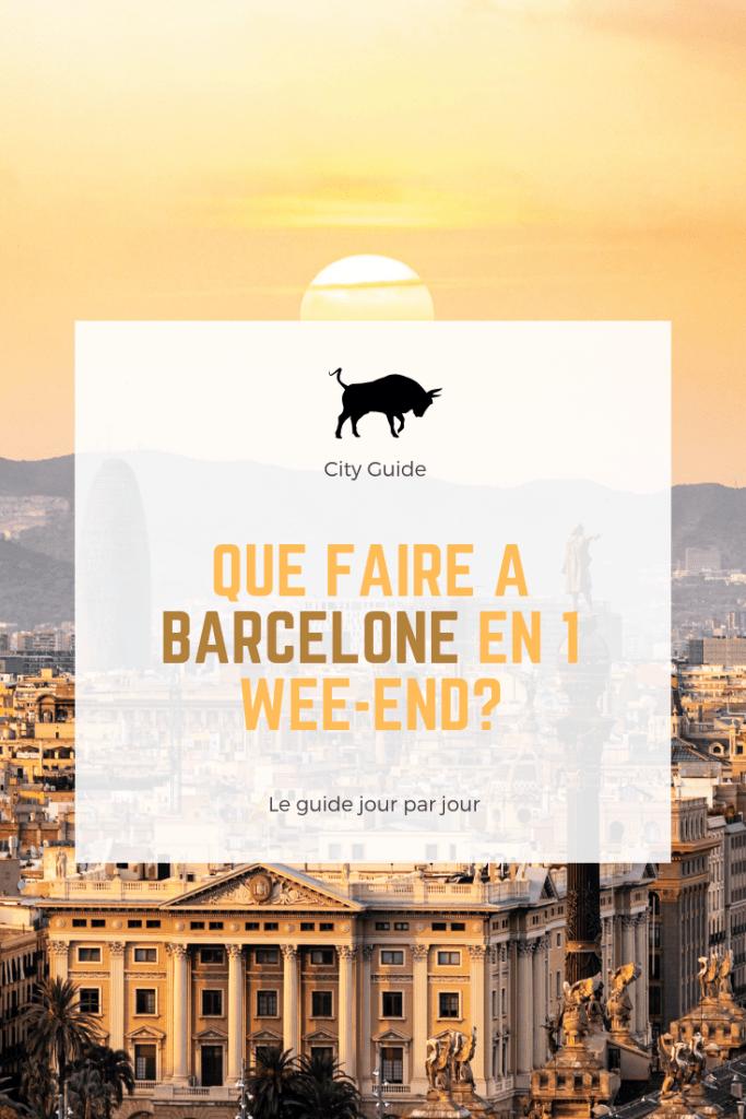 City Guide Barcelone