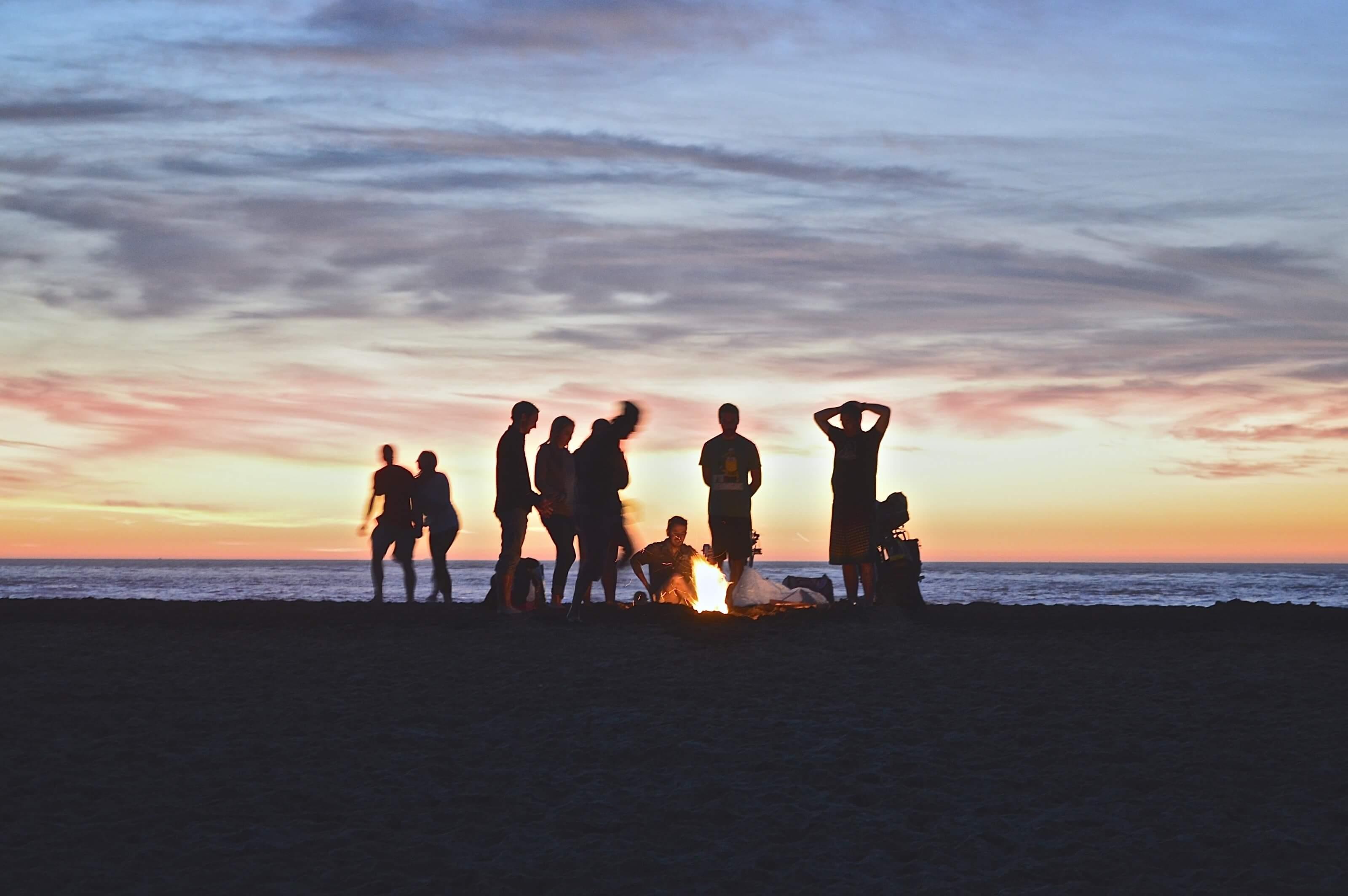 amis et rencontres en voyage
