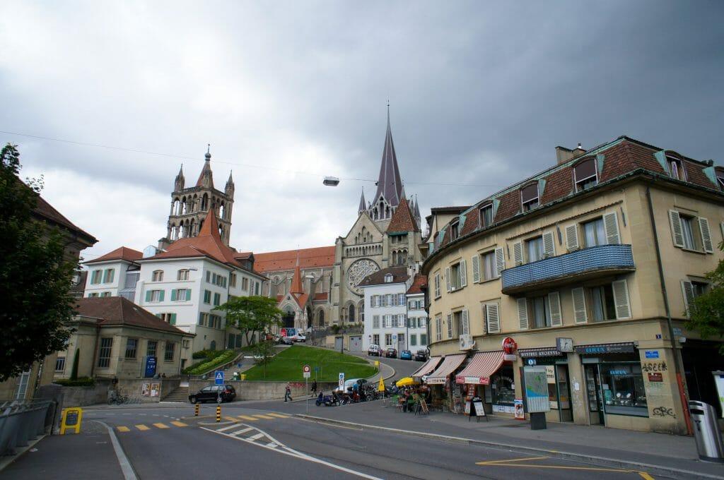 cathédrale de lausanne