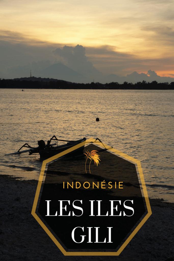 iles gili indonésie