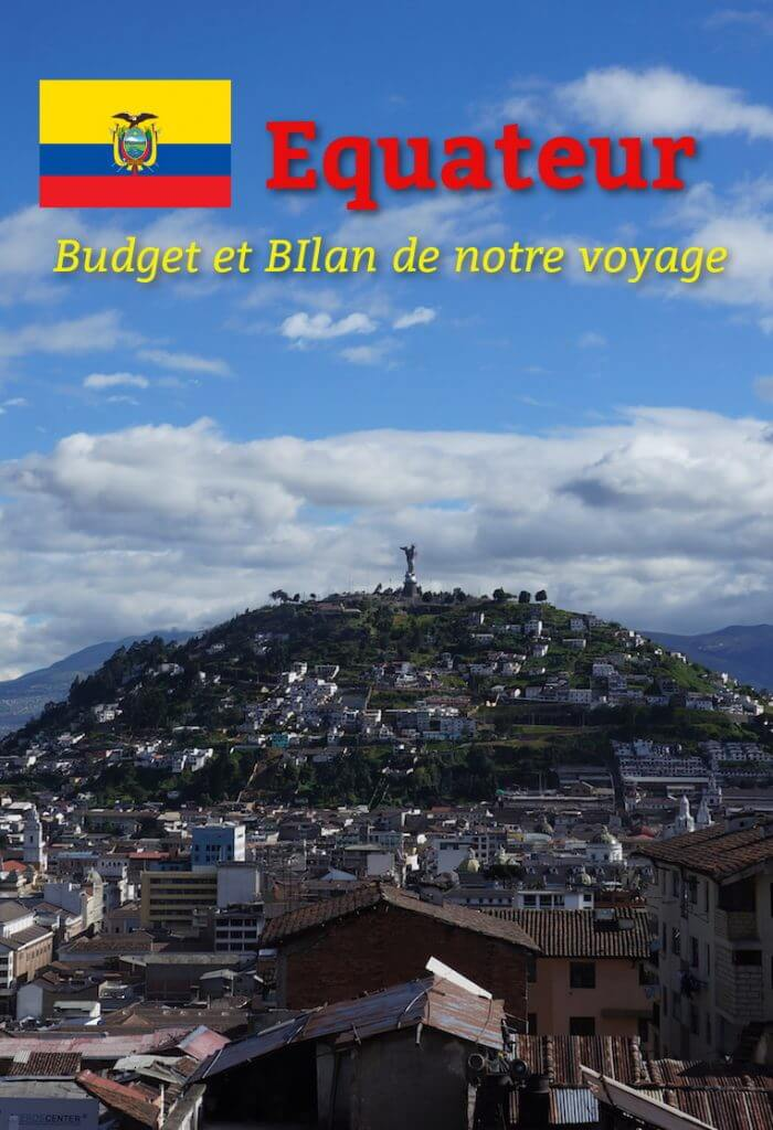 budget voyage en equateur