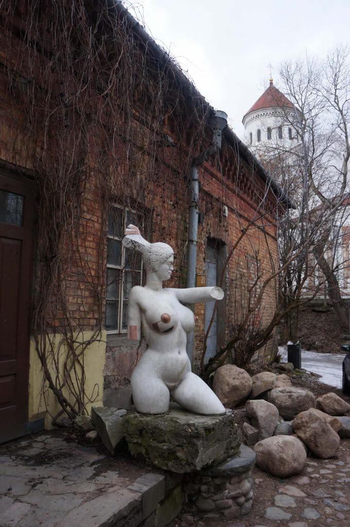art uzupis lituanie